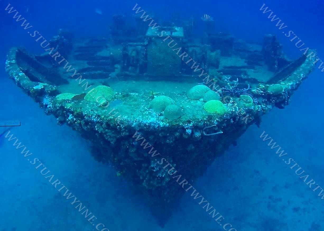 Oosterdiep Wreck View Anguilla