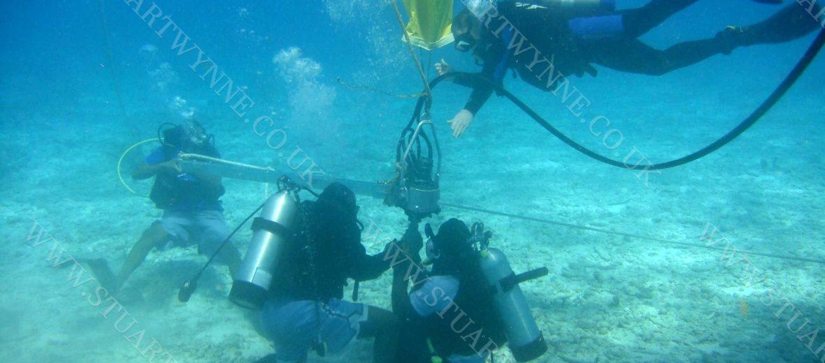 Helix Installation Sandy Island Anguilla